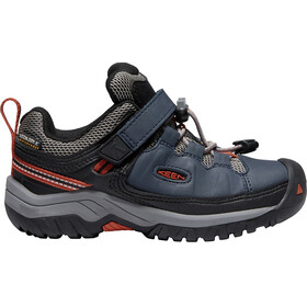 Keen Kids Targhee WP Low Shoes blue night/ro tea